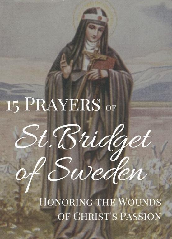Brigid prayer saint St. Brigid